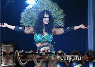 WWE / WWF Judgement Day 2001 - WWF Women's Champion Chyna appeared in her last WWF PPV