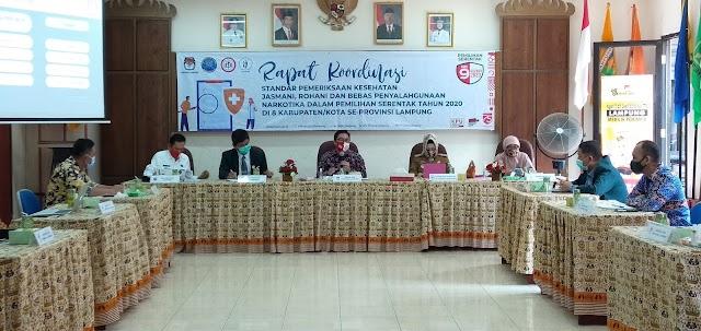 KPU 8 Kabupaten Kota Siap Laksanakan Test Kesehatan Calon Kada