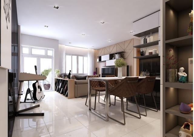 Tư vấn thiết kế căn hộ 69m2 độc đáo và ấn tượng - H2