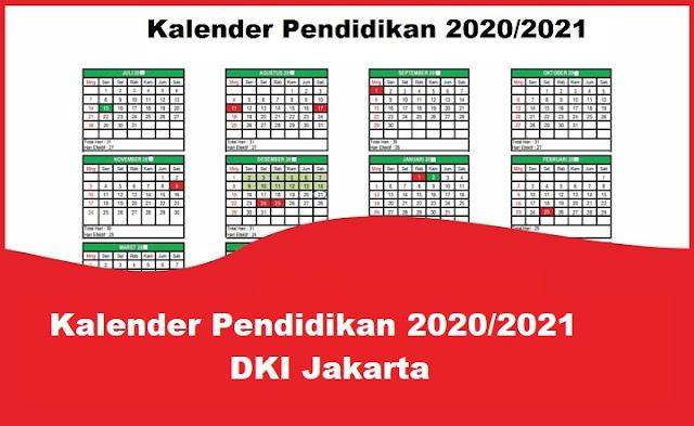 Kalender Pendidikan 2020/2021 DKI Jakarta