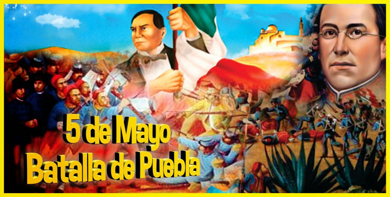 Escuela Francisco Villa Resena De La Batalla De Puebla 5 De Mayo