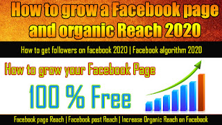 How-to-grow-a-Facebook-page-and-organic-Reach-2020
