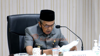 Rapat Paripurna DPRD Banjar, Banyak Catatan Fraksi Untuk Pemkab