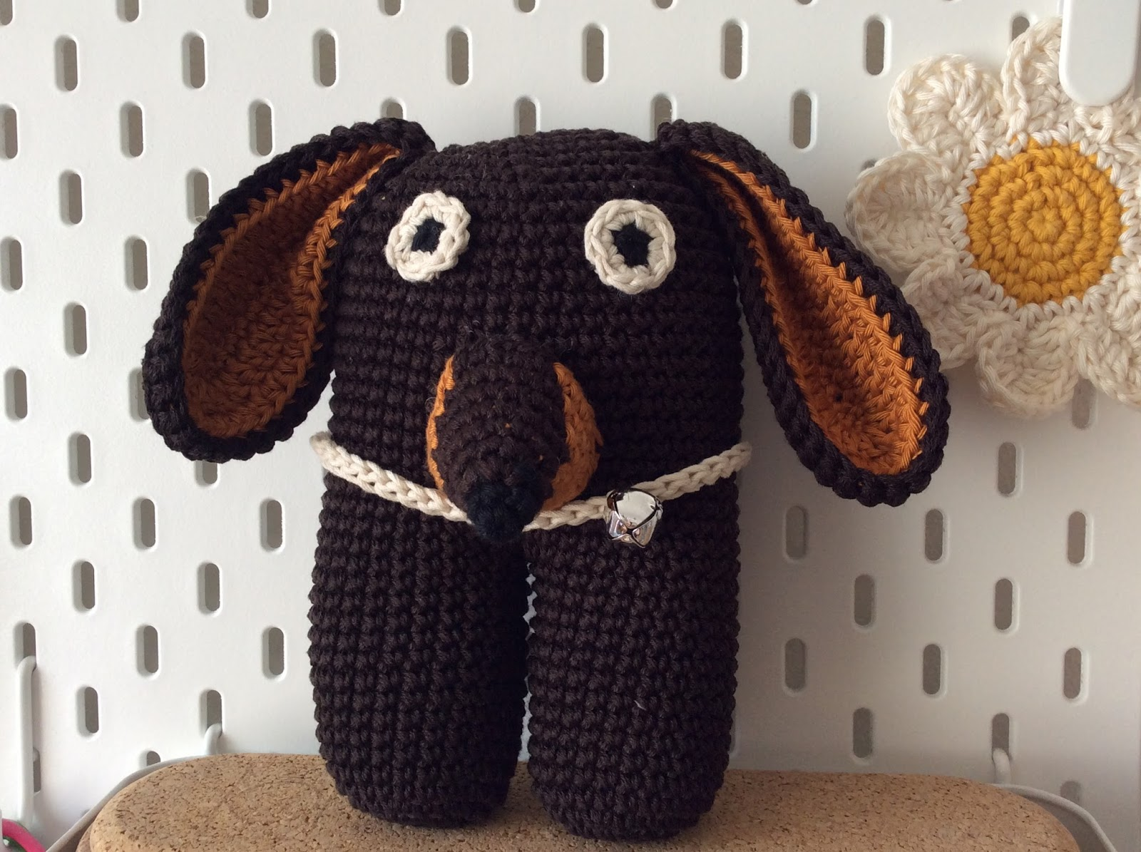How to Crochet Amigurumi Dog with Free Pattern | Crochet dog ... | 1195x1600
