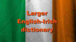 Larger English-Irish dictionary