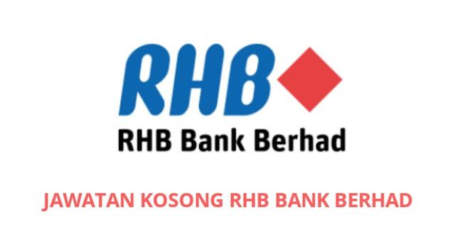 Jawatan Kosong RHB Bank 2021 (Job Vacancy)