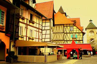 French Theme Resort,  Colmar Tropicale, Berjaya Hills, Bukit Tinggi.