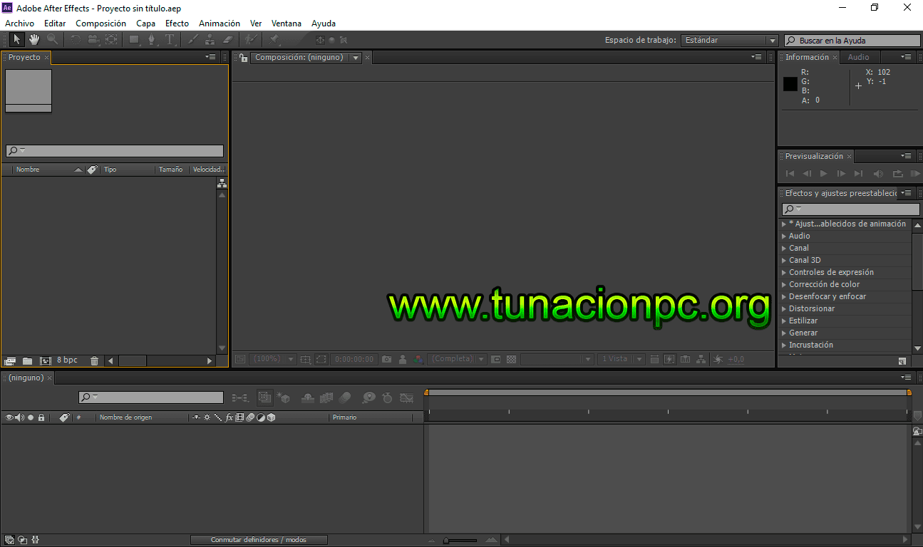 Adobe After Effects CS6 con activador español