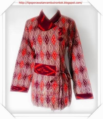 Edisi Kerja Dan Kantor Model Baju Batik Wanita Modern