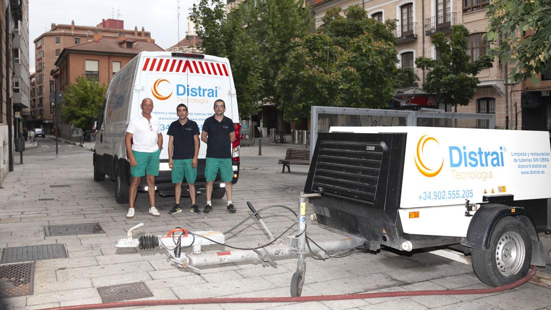 empresa reparación tuberías Valladolid
