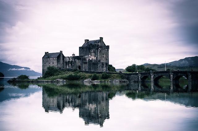 Picturesque Eilean Donan Castle in the Scottish Highlands