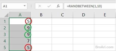 Membuat Angka Acak di Excel