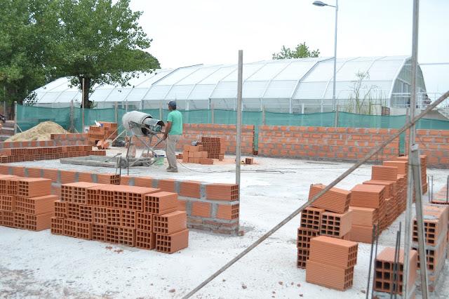 Avanza la Construcción del Edificio para Volver a Empezar
