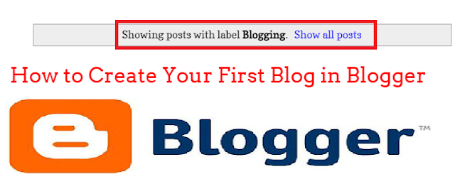 "how to Change, re-format or remove the ""showing posts with label"" message in Blogger"