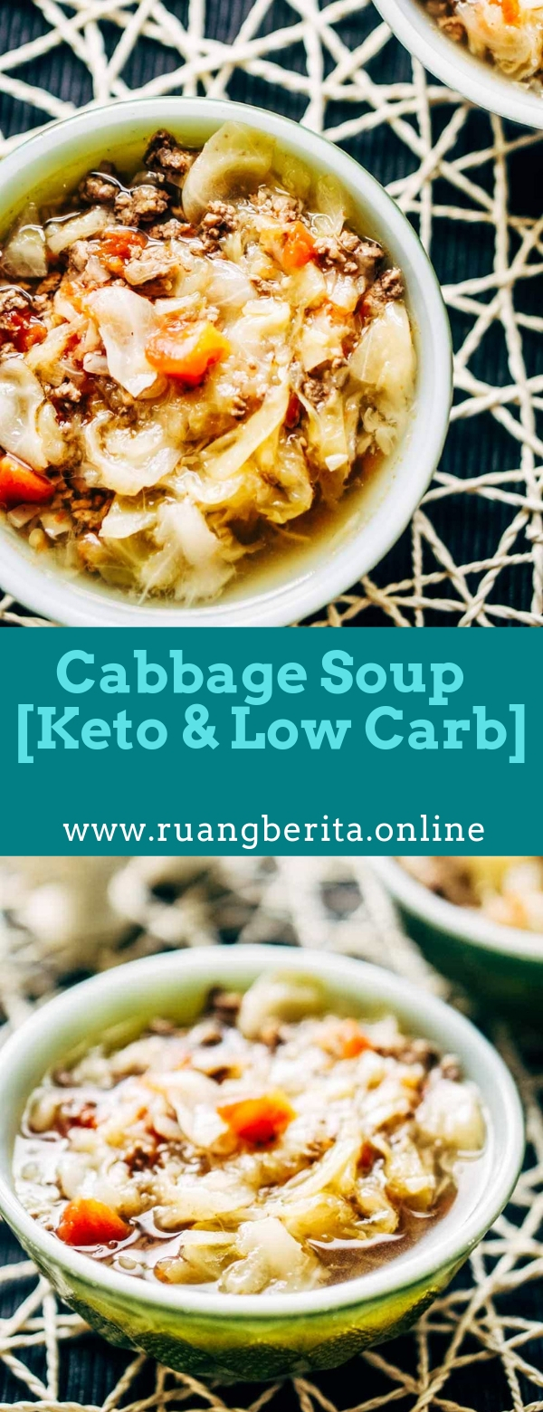 Cabbage Soup Recipe [Keto & Low Carb]