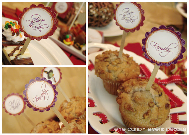 thanksgiving breakfast, thanksgiving muffins, thanksgiving circles