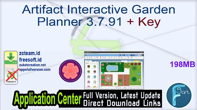 Artifact Interactive Garden Planner 3.7.91 + Key_ ZcTeam.id