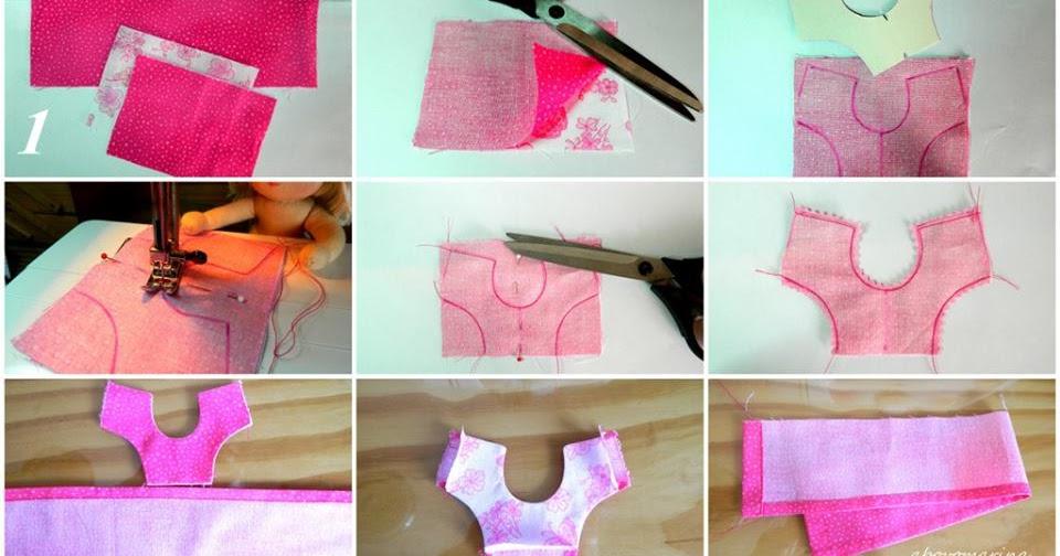 Vestiti per Barbie fai da te: modelli e tutorial   Pourfemme
