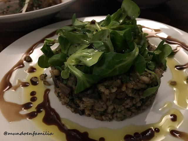 Mushroom Risotto (Restaurante U Magistra Kelly)
