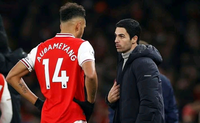 Becoming EPL Top Scorer Is Cool - Aubameyang Commits To Arsenal Despite Not Renewing Deal