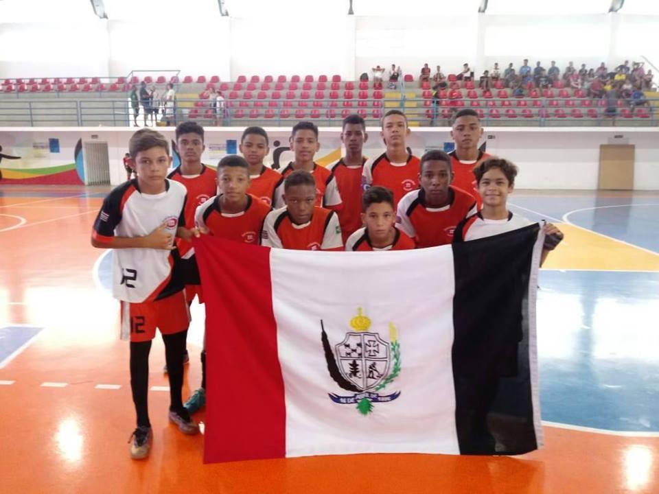 Escola Modelo sub 14  duas vitória e uma derrota na primeira fase do  maranhense de futsal 2018 21472c7988545