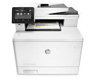 HP Color LaserJet MFP M477fdw