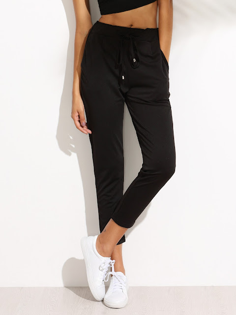 black pants outfit ideas