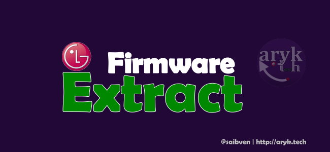 Download LG Firmware Extract