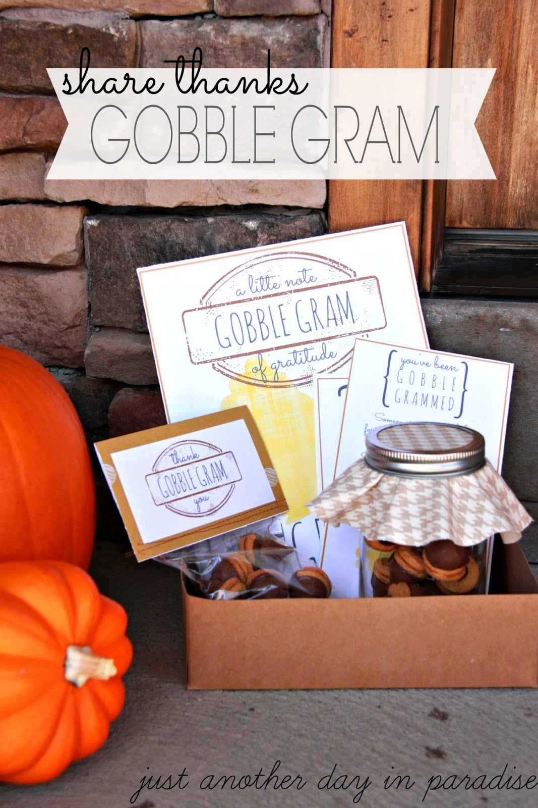 Larissa Another Day Gobble Grams Thank Your Neighbor