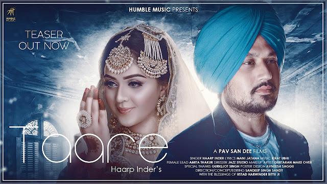 Taare Haarp Inder Lyrics in English | Kirat Ubhi | Humble Music |Lyrics Planet