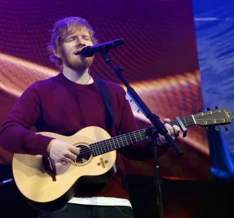 Ed Sheeran exhibition reveals he failed music course at college