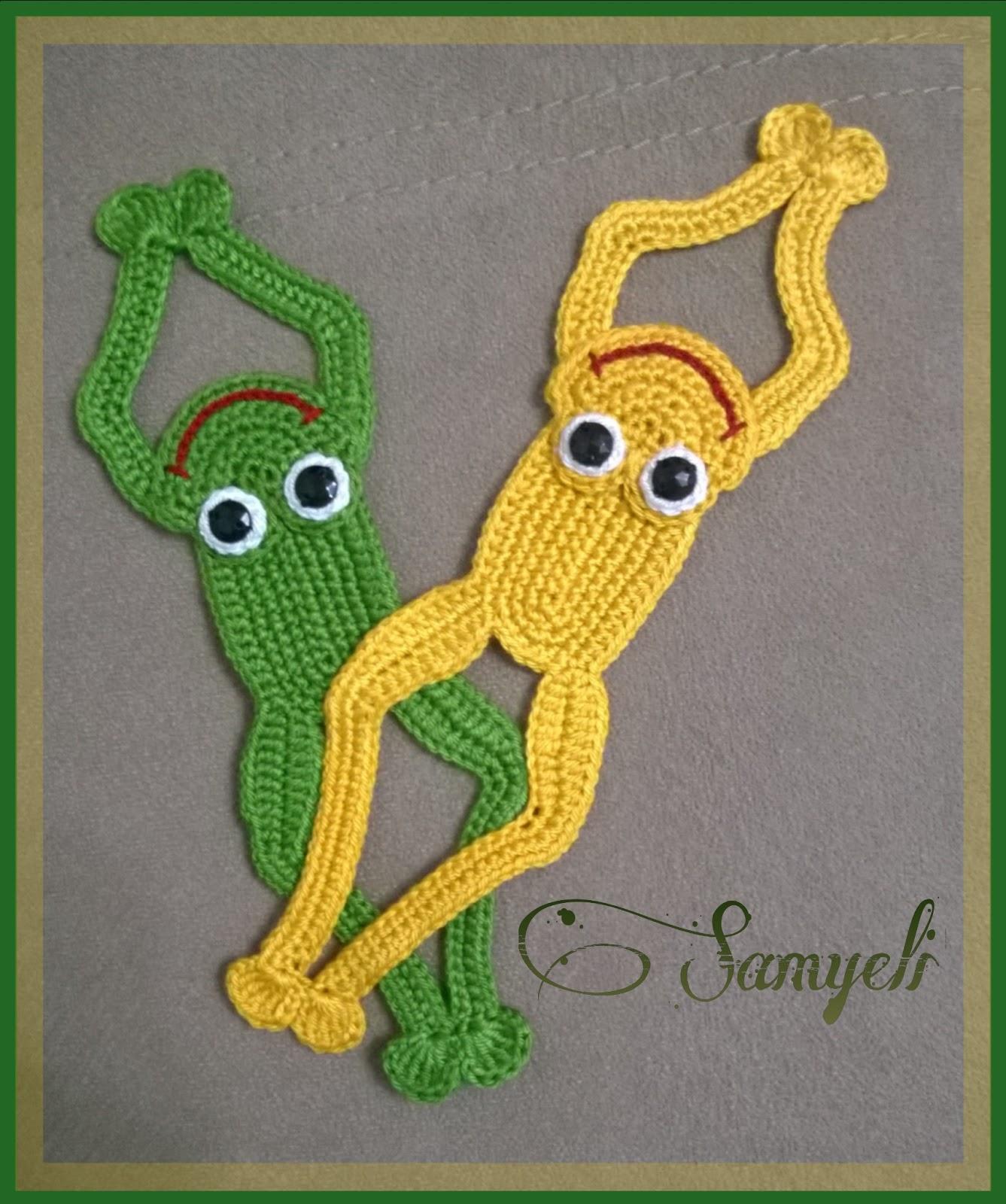 Samyelinin orguleri: Kurbaga Kitap Ayraci / Frog Bookmark