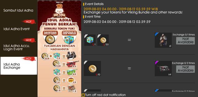 Cara Mendapatkan Sheep Badge Event Idul Adha Free Fire