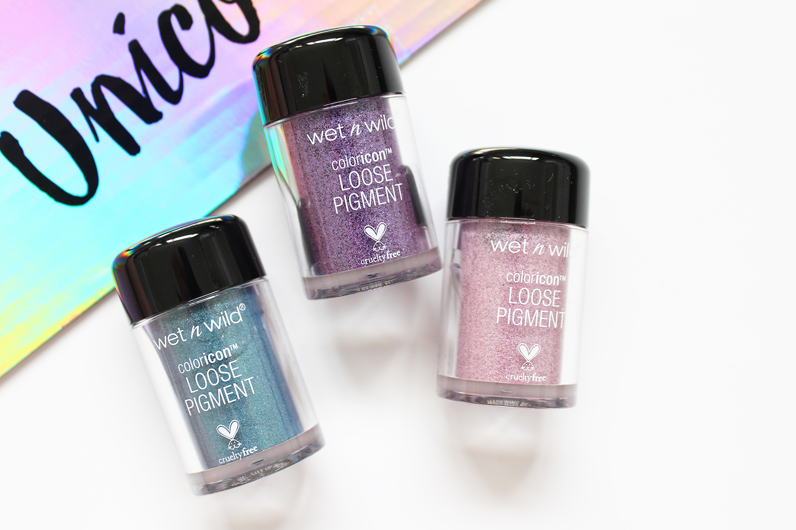 WET N WILD   Limited Edition Unicorn Glow Collection - Swatches - CassandraMyee
