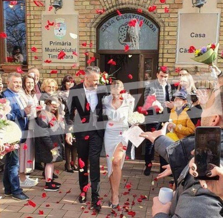 Roxana Ionescu s-a căsătorit azi! Prima imagine de la Starea Civilă EXCLUSIV