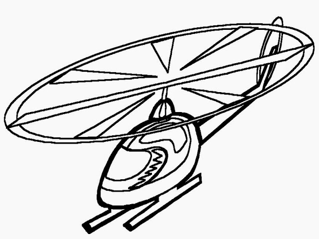 military helicopter coloring pages
