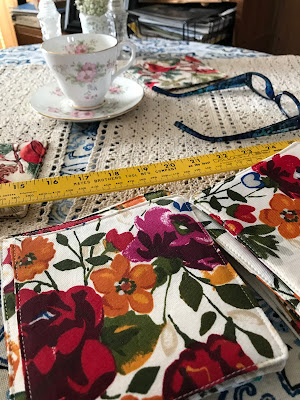 How To Make Fabric Coasters, Living From Glory To Glory Blog...