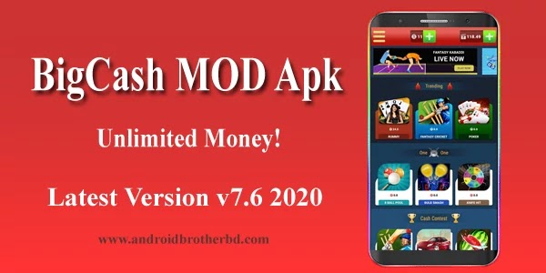 Big Cash MOD APK Unlimited Money Latest Version 2020