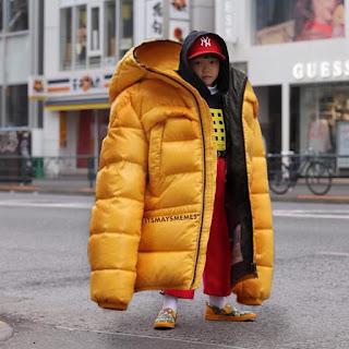 To big jacket