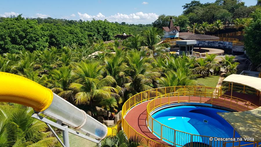 Parque aquático em Olímpia