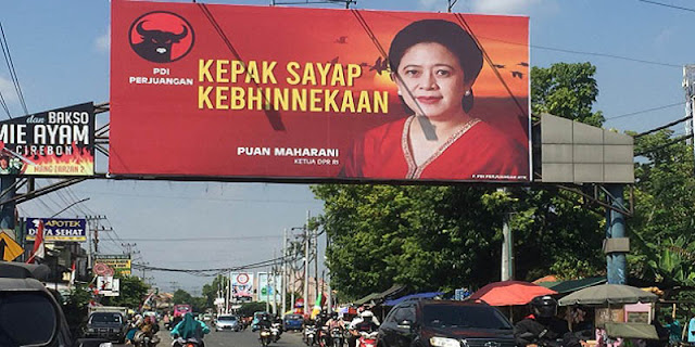 Sebar Baliho Puan, Cara PDIP Mengunci Langkah Ganjar Pranowo