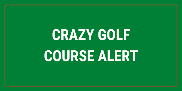 There's a new Crazy Golf course at the Run About soft play centre in Farnborough, Hampshire