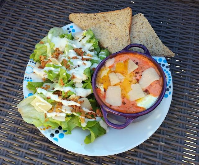 Recette Oeuf Cocotte à la tomate