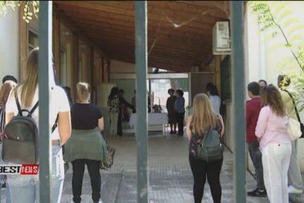 Αγιασμός και έναρξη μαθημάτων στο Δημόσιο ΙΕΚ του Νοσοκομείου Καλαμάτας