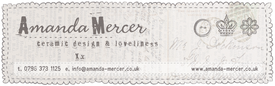 Amanda Mercer - Ceramic Design & Loveliness