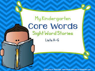 https://www.teacherspayteachers.com/Product/My-Kindergarten-Core-Word-Readers-2658385