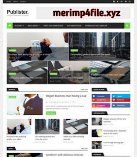 Onido blogger template Free Download