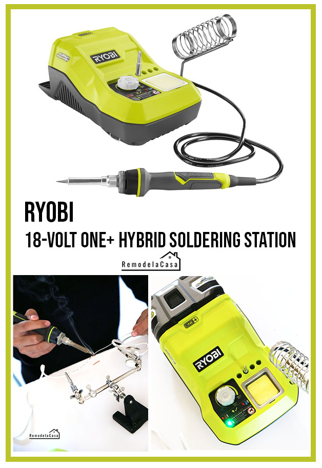 Soldering iron uses