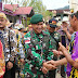 peduli Budaya Nusantara Satgas Pamtas Ikut Resmikan Monumen Dayak kenyah