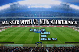 All Star Pitch For MjTs Stadium Pack V3 - PES 2017